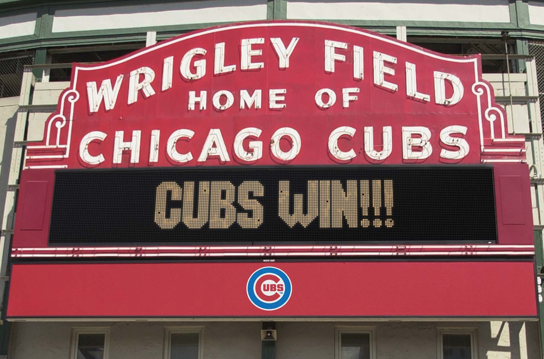 Chicago Cubs Win The World Series
