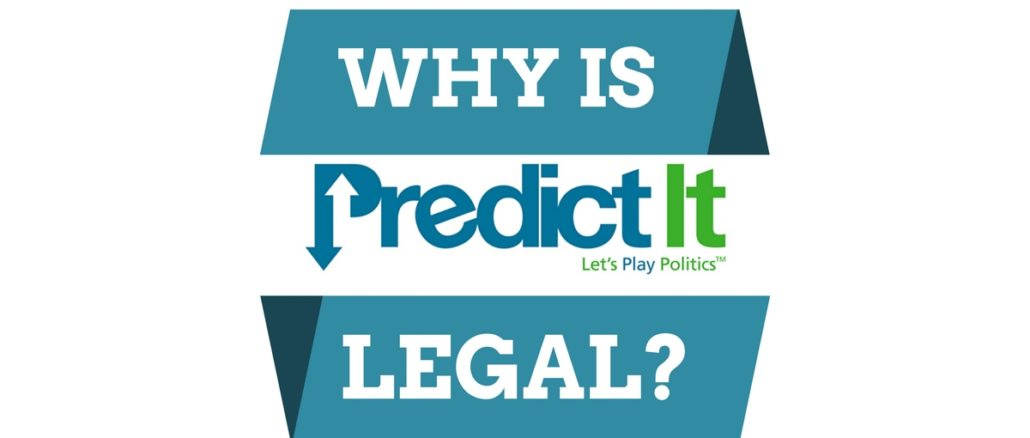 why is predictit legal