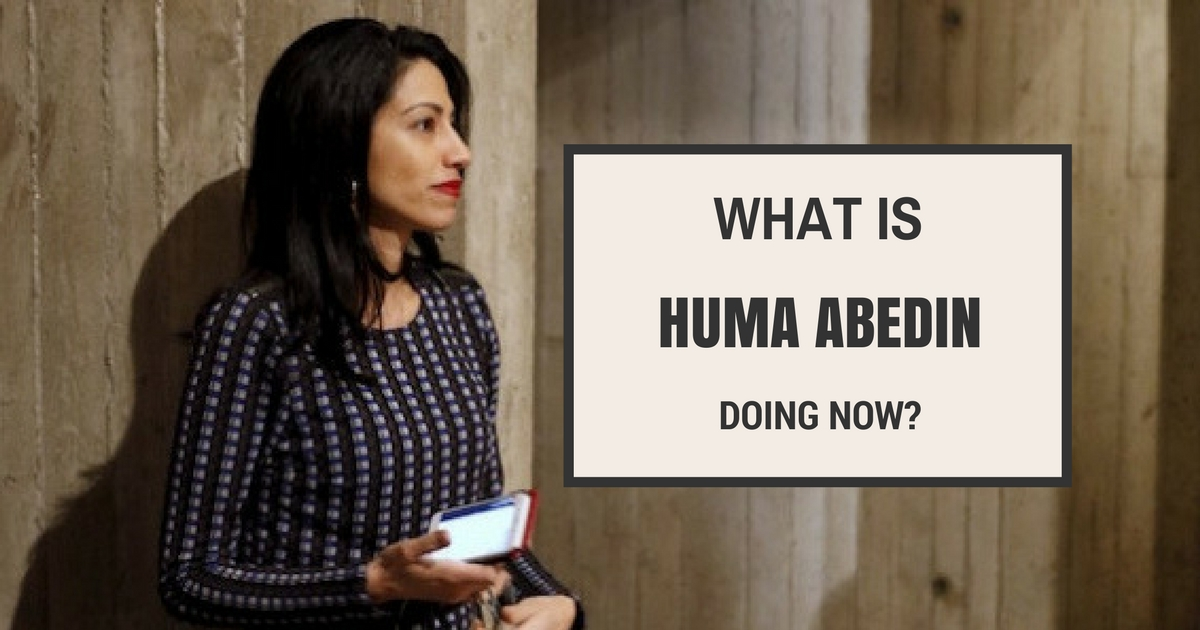 What Is Huma Abedin Doing Now?