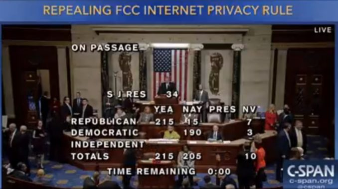 Why Did Congress Overturn Internet Privacy Rules?